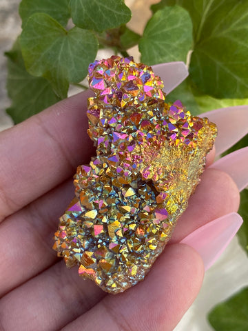 Sunset Aura Spirit Quartz