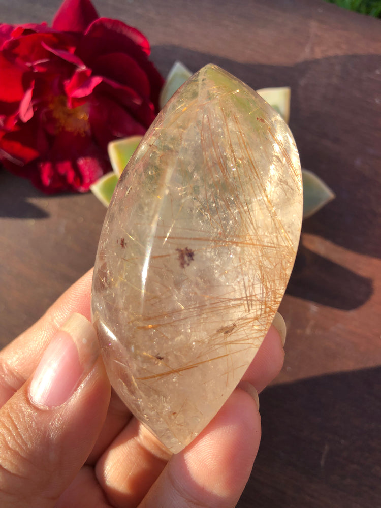 Golden Rutilated Quartz