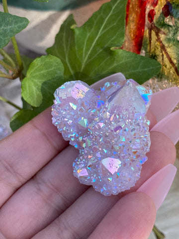 Angel Aura Spirit Quartz Point