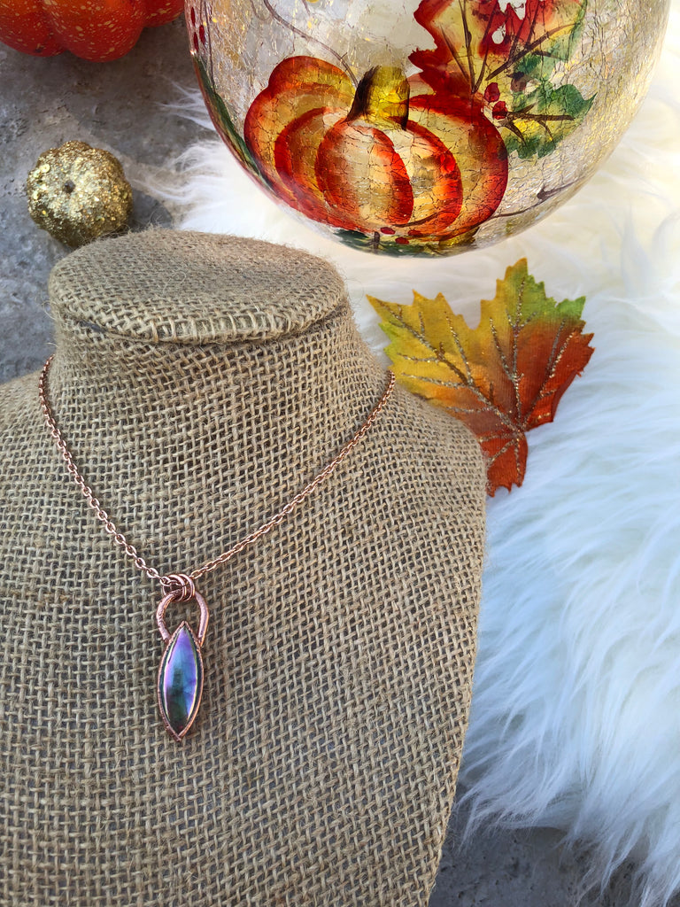 Angel Aura Labradorite Necklace