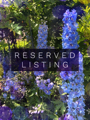 RESERVED LISTING - taylormila