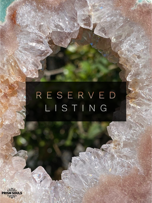 RESERVED LISTING - hautebrew