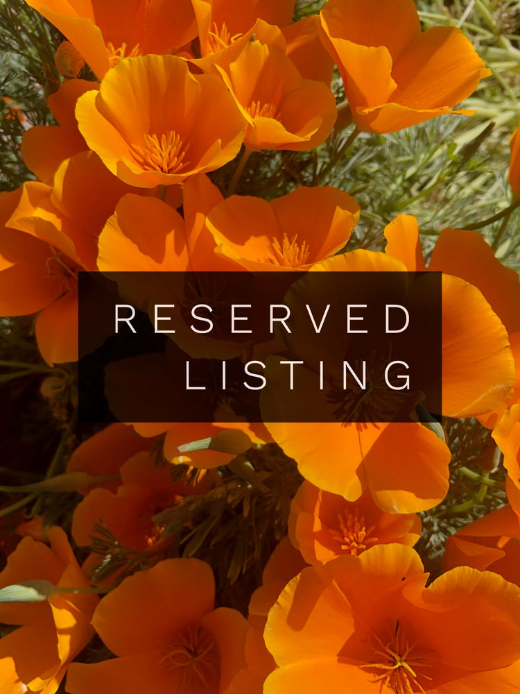 RESERVED LISTING - toourowntune