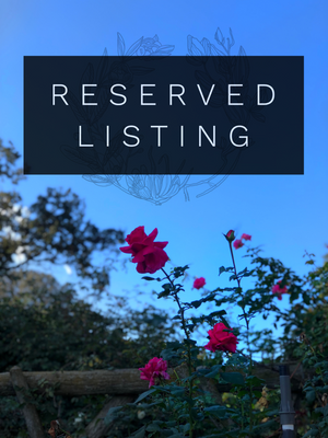 RESERVED LISTING - aquamarinegarden