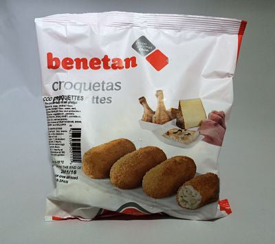 Cod Croquettes Package