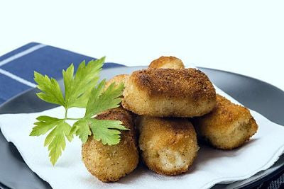Cod Croquettes Cooked