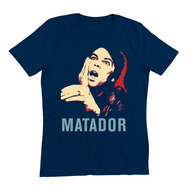 MATADOR ALBUM COVER NAVY T-SHIRT