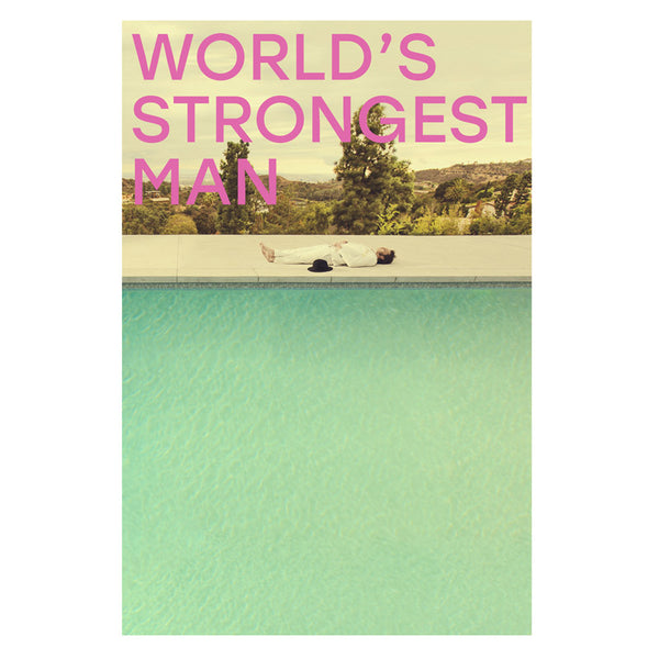 WORLD'S STRONGEST MAN POSTER