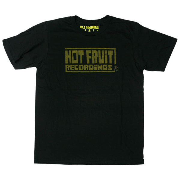 HOT FRUIT RECORDINGS (YELLOW LOGO) T-SHIRT
