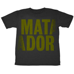 MATADOR MENS BLACK T-SHIRT