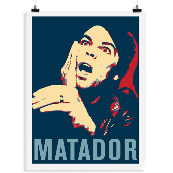 MATADOR ALBUM COVER LITHOGRAPH