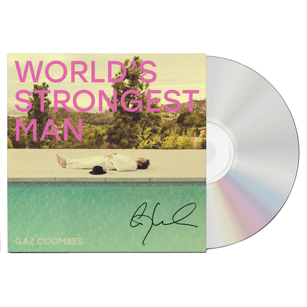 WORLD'S STRONGEST MAN - SIGNED CD