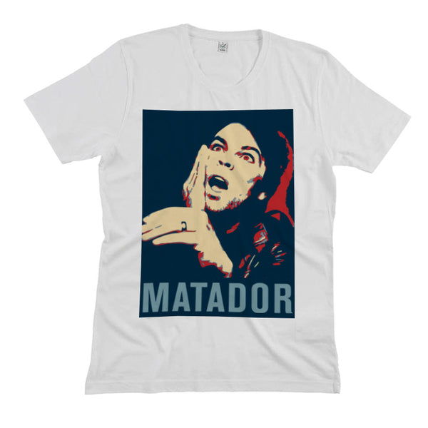 MATADOR ALBUM COVER WHITE T-SHIRT
