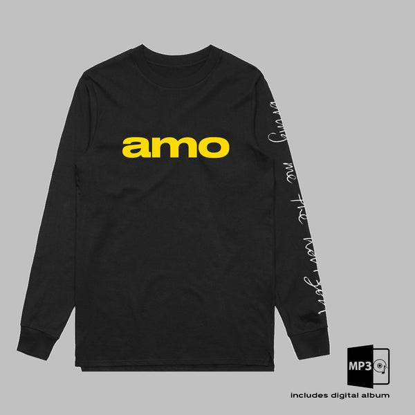 AMO Long Sleeve T-Shirt + ALBUM MP3