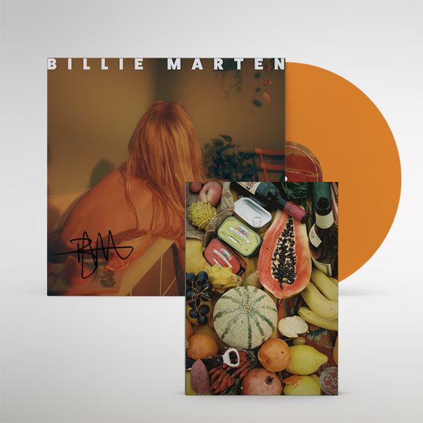 Feeding Seahorses By Hand - Signed Translucent Orange Vinyl + Book