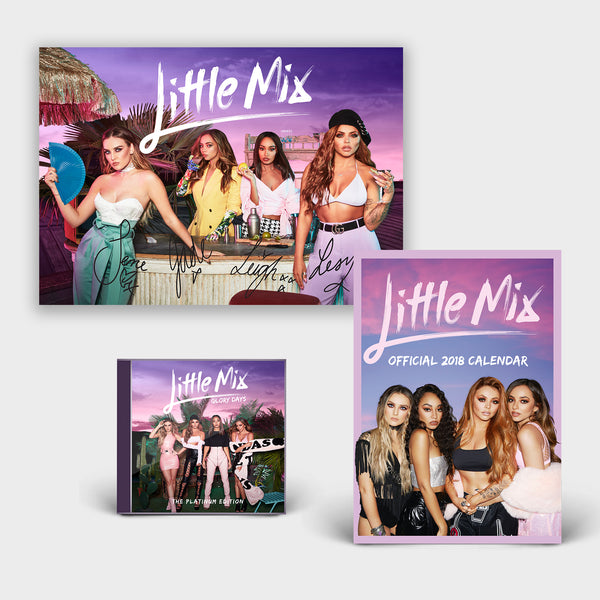 Glory Days: The Platinum Edition CD/DVD + Poster + 2018 Calendar
