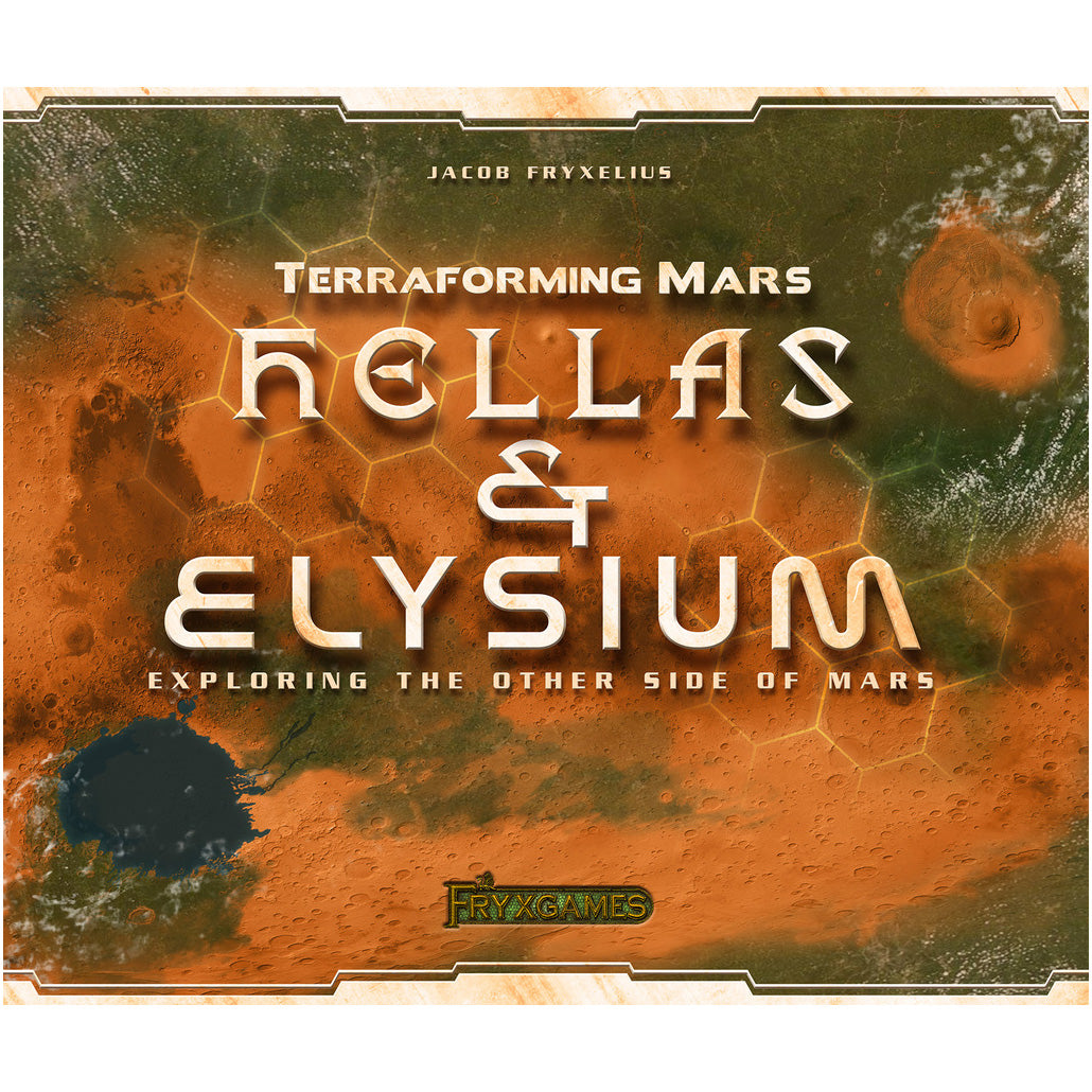 Terraforming Mars Hellas & Elysium is out today!