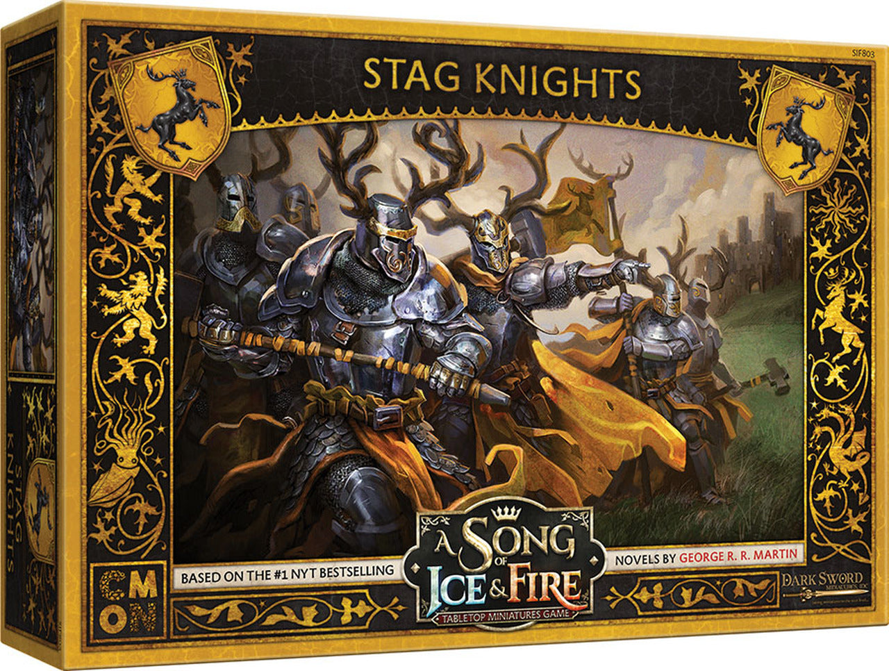A Song of Ice & Fire: Tabletop Miniatures Game – Baratheon Stag Knights