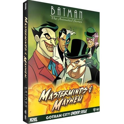 Batman The Animated Series Masterminds & Mayhem