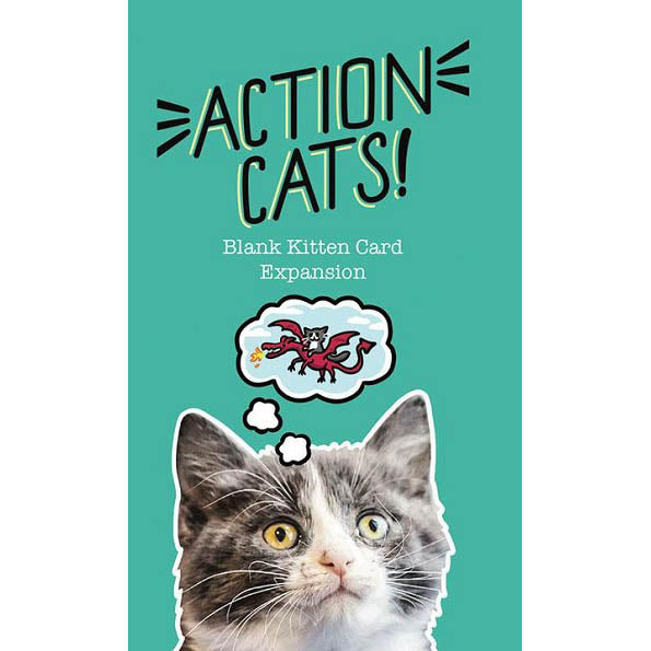 Action Cats Blank Kitten Card Expansion