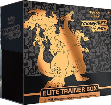 Pokémon Champion's Path Charizard Elite Trainer Box LIMIT 1 PER CLIENT