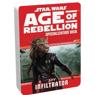 Star Wars Age of Rebellion Infiltrator Specialization Deck