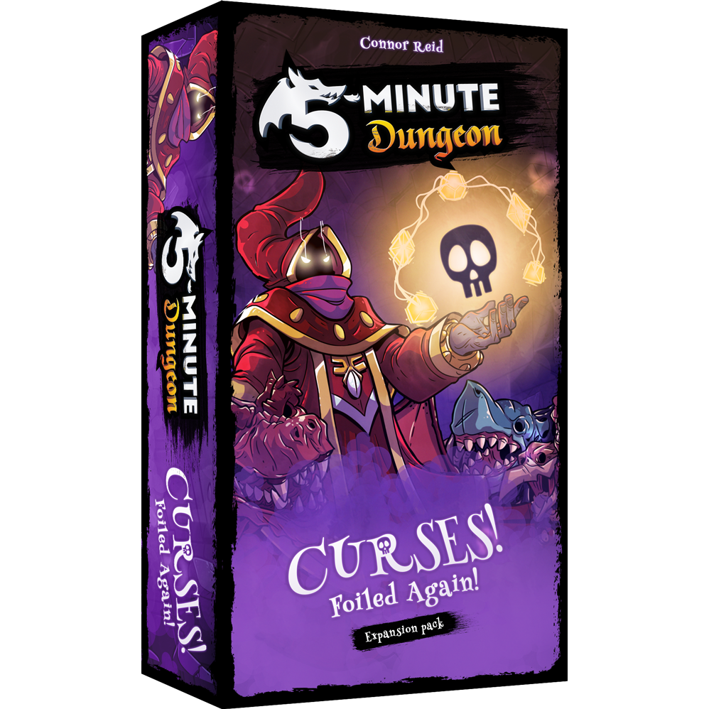 5-Minute Dungeon: Curses! Foiled Again!