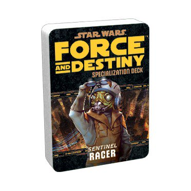 Star Wars Force and Destiny Racer Specialization Deck