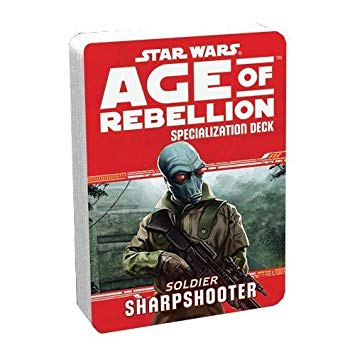 Star Wars Age of Rebellion Sharpshooter Specialization Deck