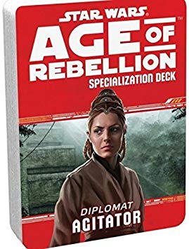 Star Wars Age of Rebellion Agitator Specialization Deck