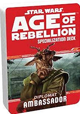 Star Wars Age of Rebellion Ambassador Specialization Deck