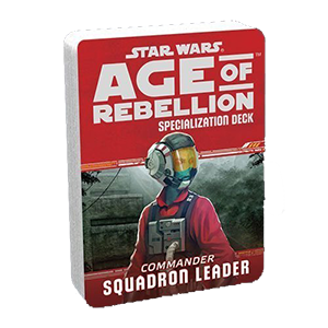 Star Wars Age of Rebellion Squadron Leader Specialization Deck