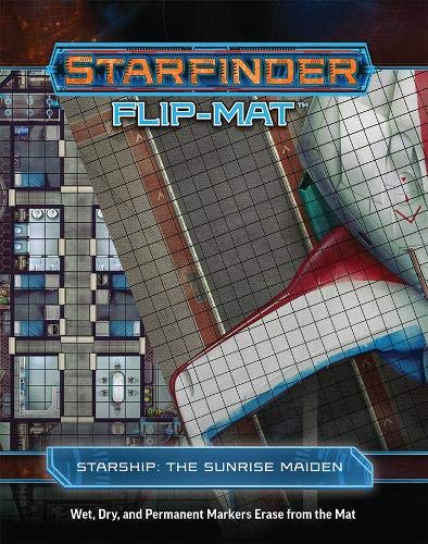 Starfinder Flip-Mat Starship The Sunrise Maiden