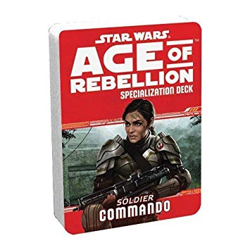 Star Wars Age of Rebellion Commando Specialization Deck