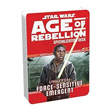 Star Wars Age of Rebellion Force-sensitive Emergent Specialization Deck