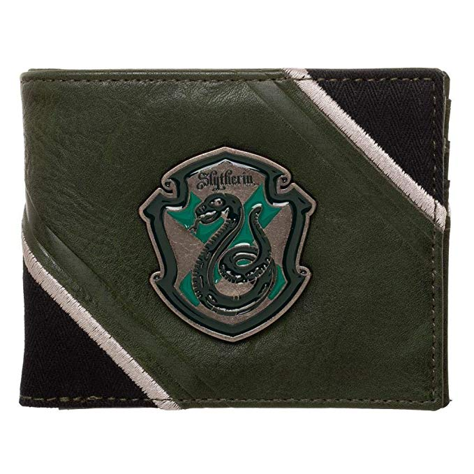 Harry Potter - Slytherin Crest Bifold Wallet