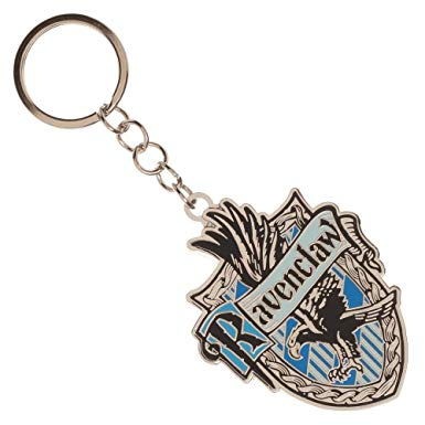 Harry Potter -  Ravenclaw House Metal Keychain