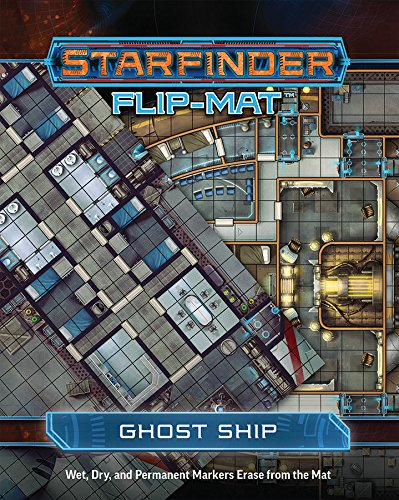 Starfinder Flip-Mat Ghost Ship