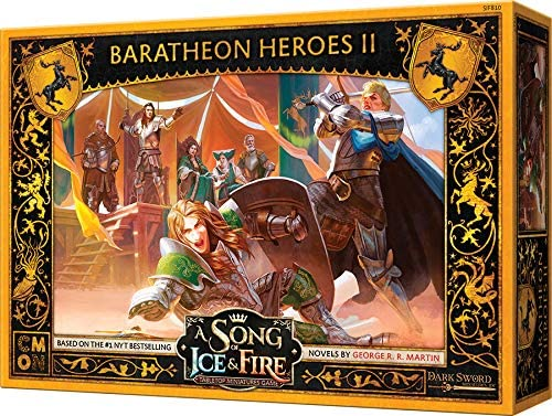 A Song of Ice & Fire: Tabletop Miniatures Game – Baratheon Heroes II