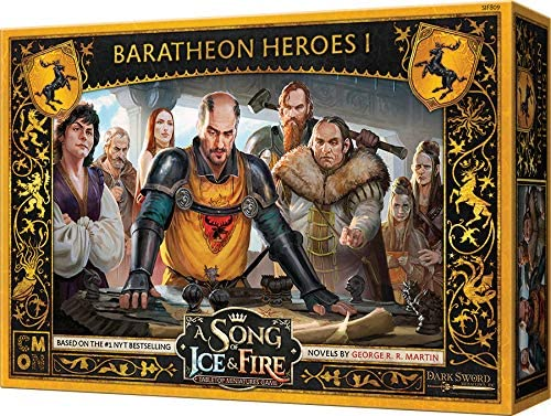 A Song of Ice & Fire Baratheon Heroes I