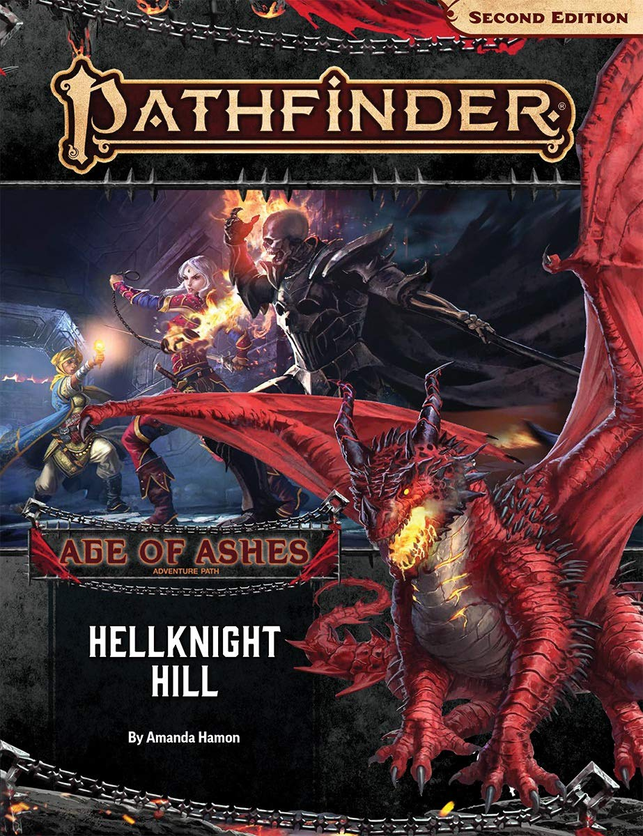 Pathfinder Second Edition Adventure Path Hellknight Hill Age of Ashes 1 of 6