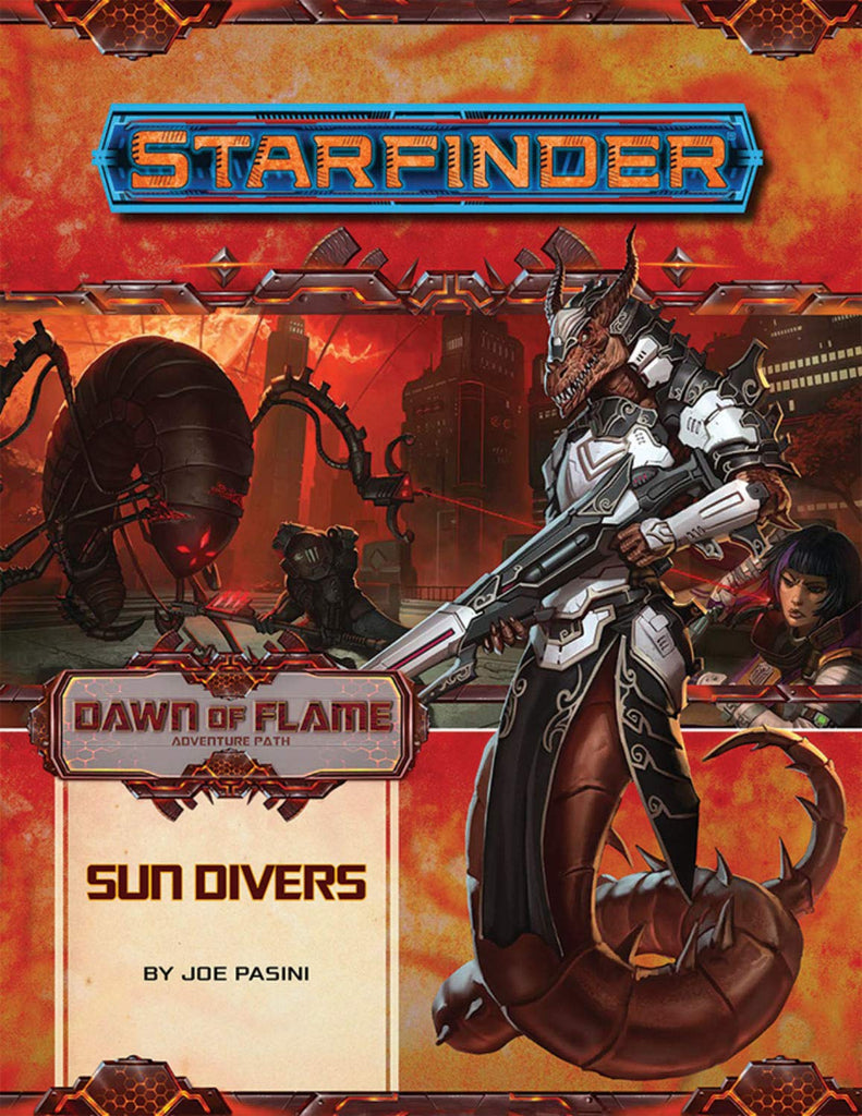 Starfinder Adventure Path Sun Divers Dawn of Flame 3 of 6