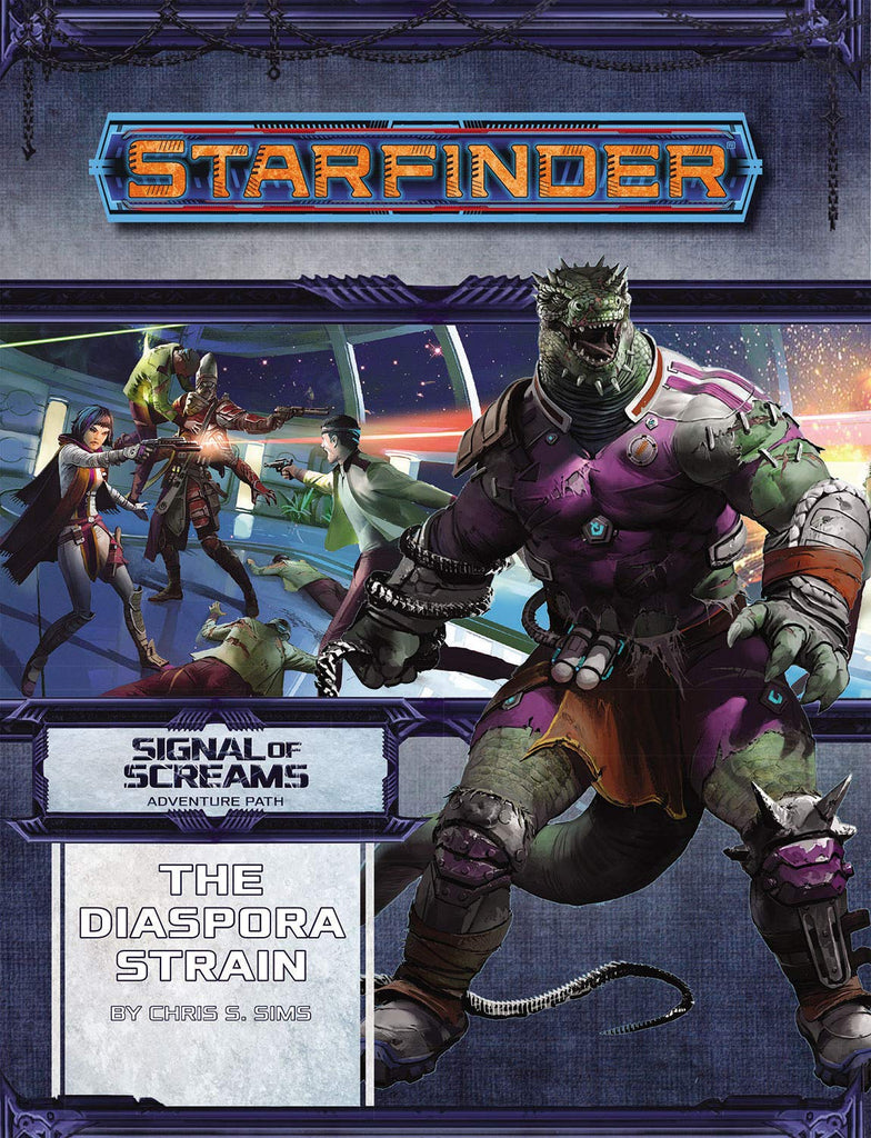 Starfinder Adventure Path The Diaspora Strain Signal of Screams 1 of 3