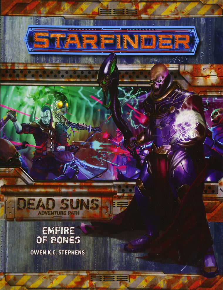 Starfinder Adventure Path Empire of Bones Dead Suns 6 of 6