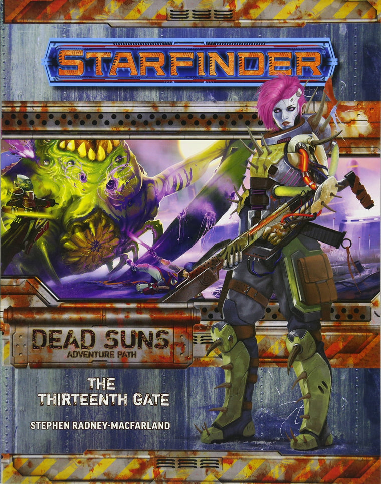 Starfinder Adventure Path The Thirteenth Gate Dead Suns 5 of 6
