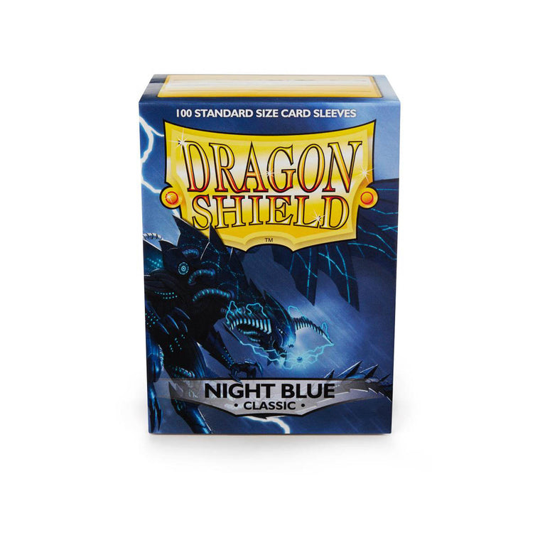 Dragon Shield Sleeves Night Blue 100CT Standard Size