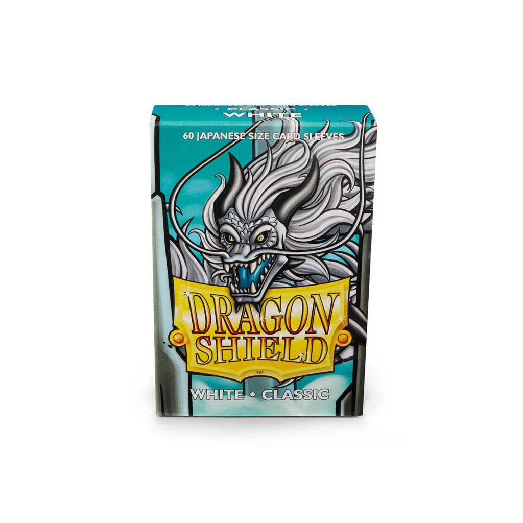 Dragon Shield Sleeves White 60CT Japanese Size