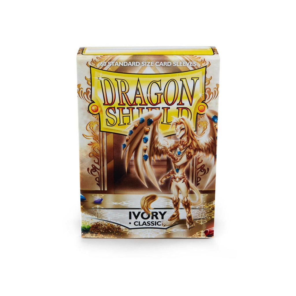 Dragon Shield Sleeves Ivory 60CT Standard Size