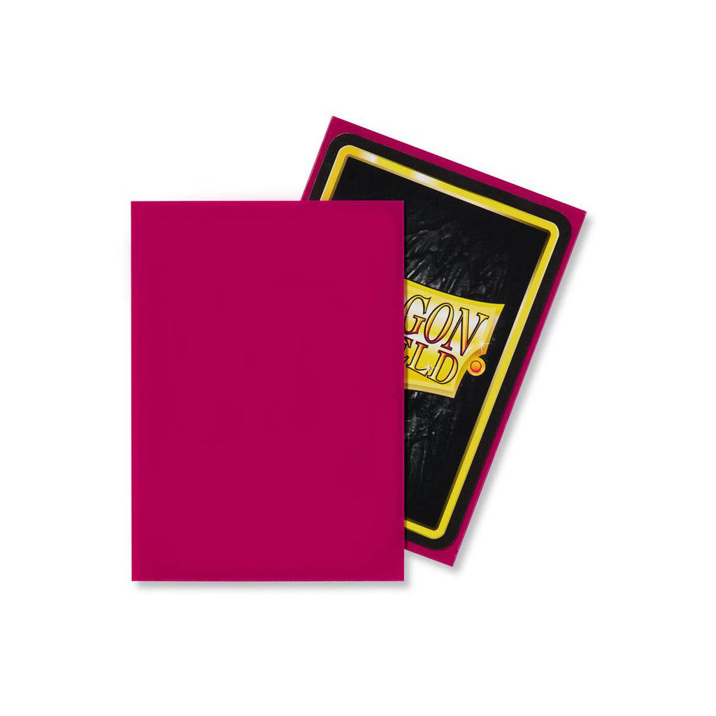 Dragon Shield Sleeves Magenta 60CT Standard Size
