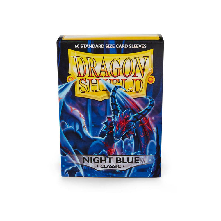Dragon Shield Sleeves Night Blue 60CT Standard Size